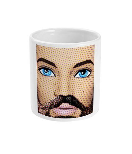 Those Eyes Though! Pop Art Mug