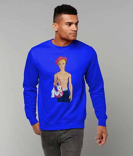 Cutie With A Chihuahua! Funny, Gay Sweatshirt