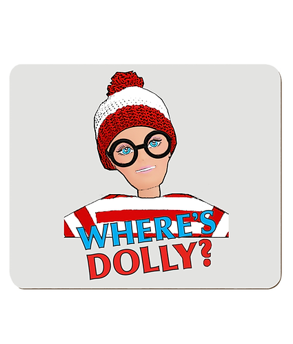 4 x Funny, Where's Dolly Place Mats
