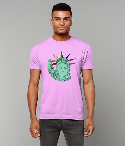 The U.S of Gay! Pop Art Statue of Liberty LGBT T-Shirt