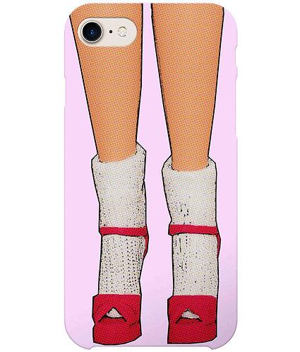 Socks & Stilettos i-Phone Case