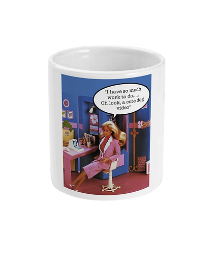 Funny Office Meme Mug! I Have so much work to do!
