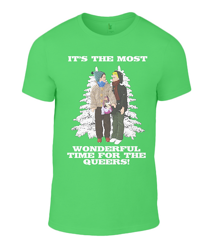 It's The Most Wonderful Time For The Queers T-Shirt
