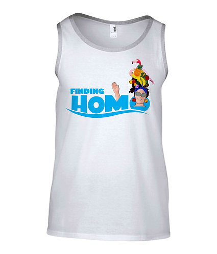 Finding Homo! Funny, Gay, Tank Top