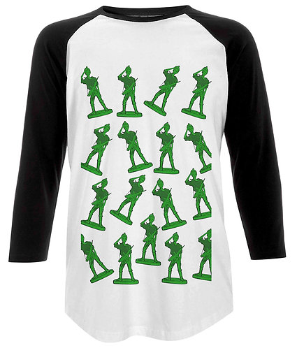 Girl Toy Soldiers Baseball Shirt