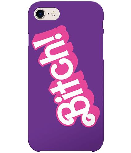 Bitch! Funny, Lesbian/Gay i-Phone Case