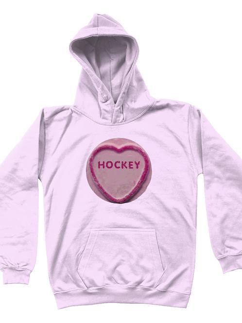 Hockey Loveheart Kids Field Hockey Hoodie