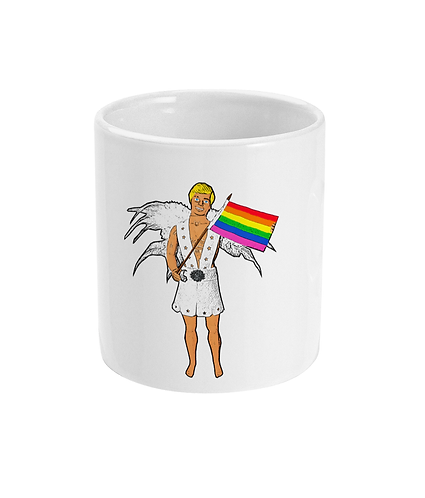 Funny, Gay Mug! Pride Boy!