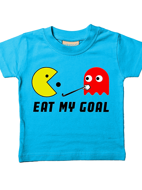 Eat My Goal! Cool, Babies Field Hockey T-Shirt