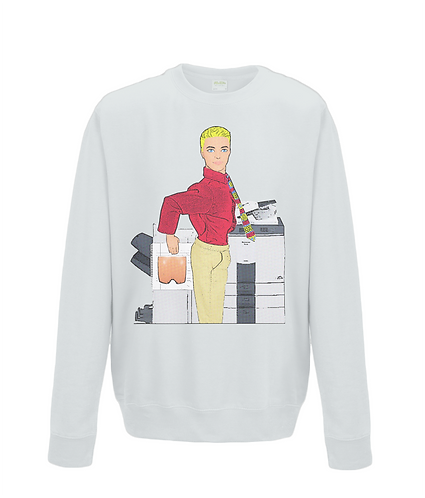 Fun At The Photocopier Sweatshirt