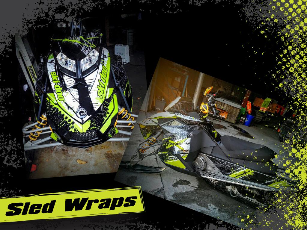 Sled Wraps 4