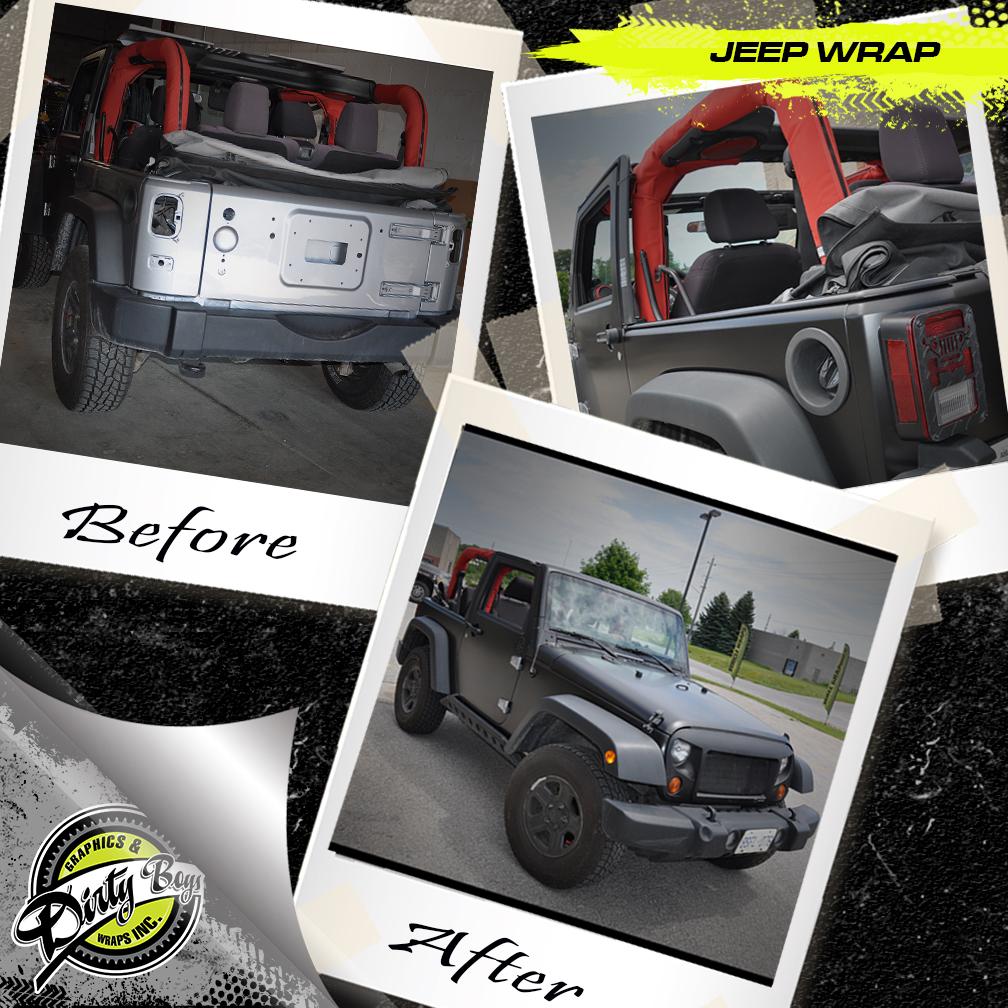 Jeep Colour Change