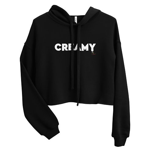 CREAMY Crop Top Hoodie