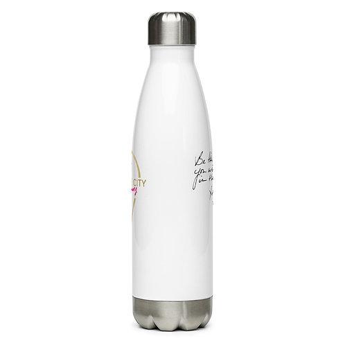 BE THE PLEASURE Stainless Steel Water Bottle