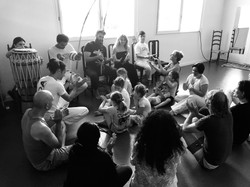 Initiation avec professeur Bambino (CAPOEIRA BIARRITZ SENZALA)
