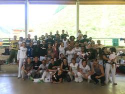 Stage à Deba - Intrutor Igor (Grupo SENZALA) - avec professeur Bambino (CAPOEIRA BIARRITZ SENZALA)