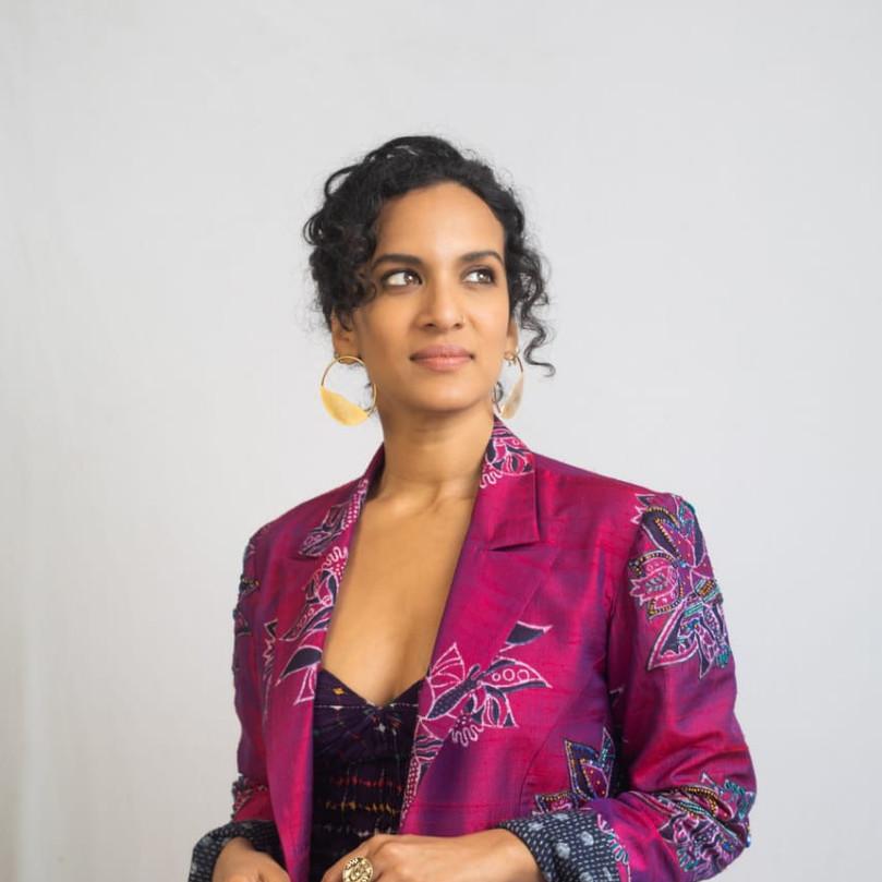 Anoushka Shankar for an event in Mumbai