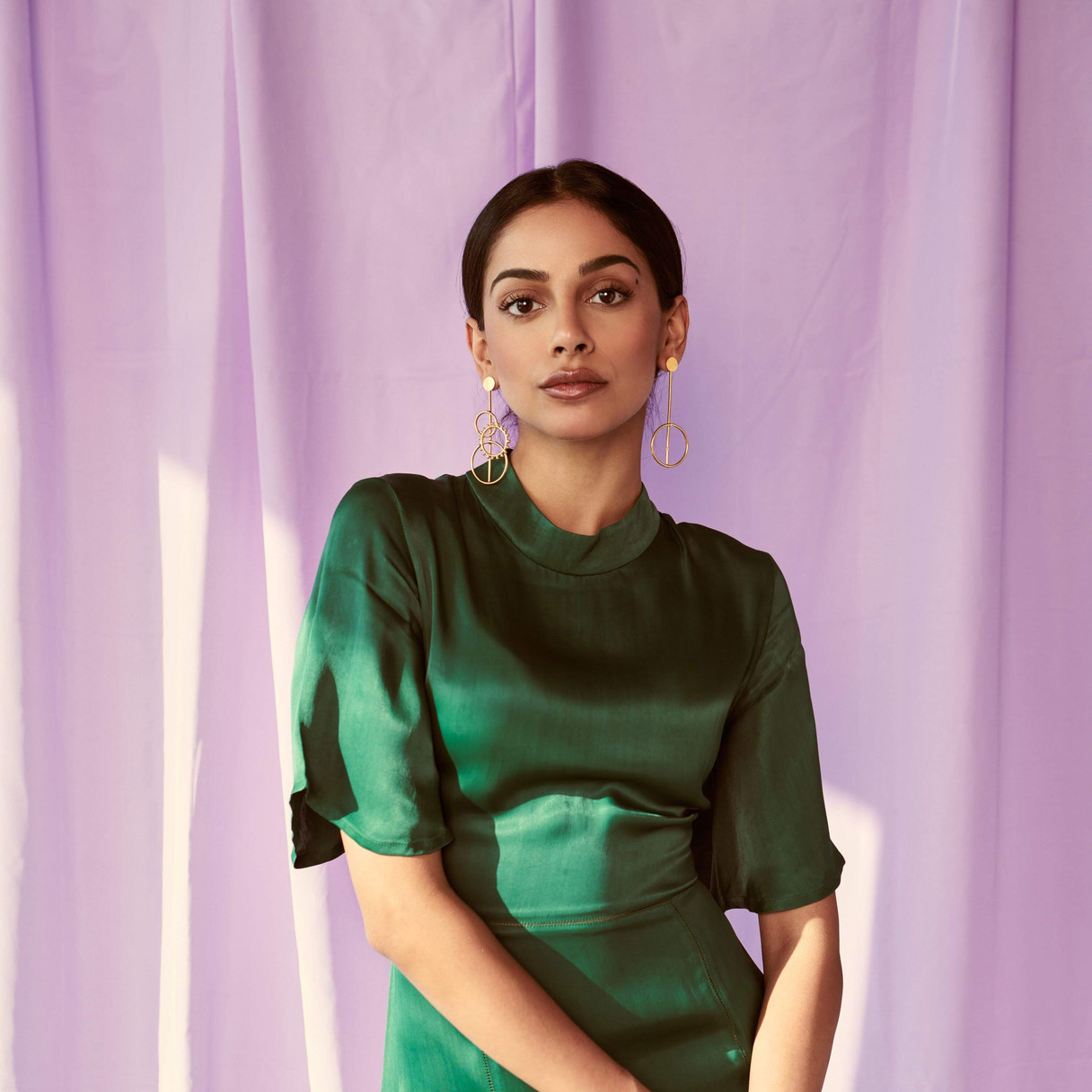 Banita Sandhu for a shoot in Mumbai Styled by - Meagan Concessio