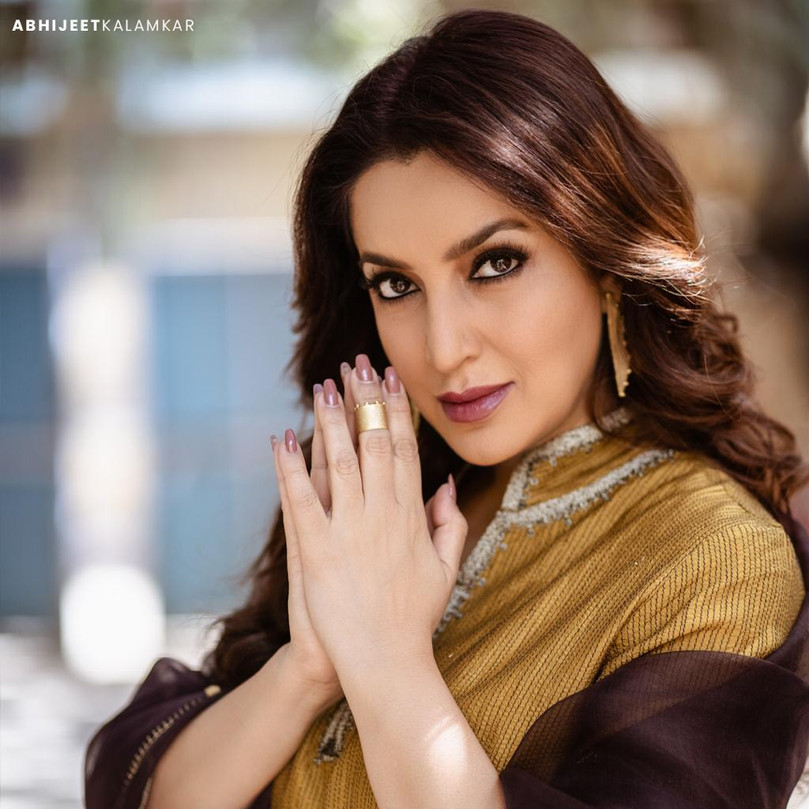 Tisca Chopra in 1011's ear- ring and ring for Savdhan India on Star Bharat, Styled by Anisha Gandhi and Rochelle D'sa