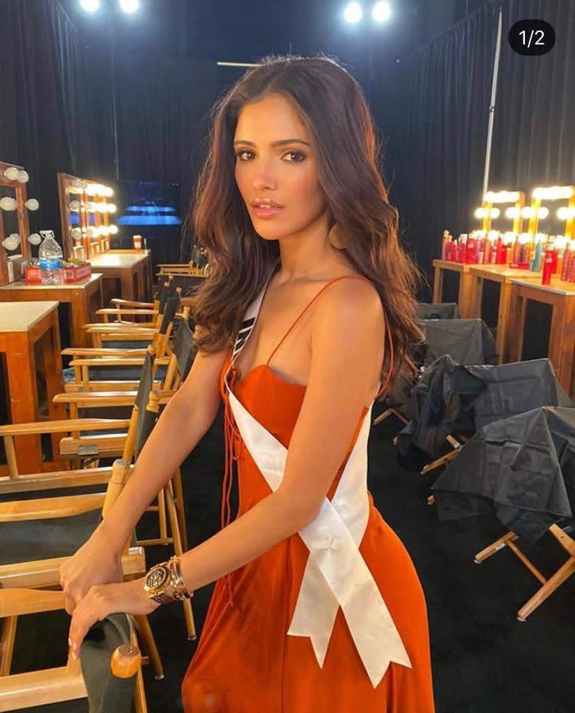 Miss Diva 2019 Vartika Singh for the Miss Universe 2019 show rehearsals in Atlanta, Georgia