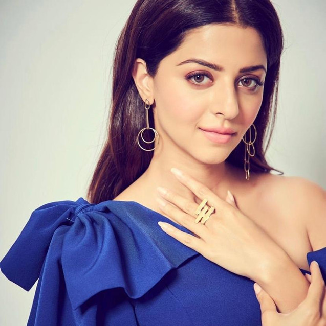 """Vedhika Kumar or the promotions of her film """"The Body"""""""