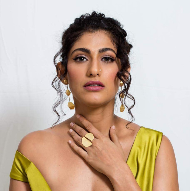 Kubbra Sait in our ring for Gold Awards.