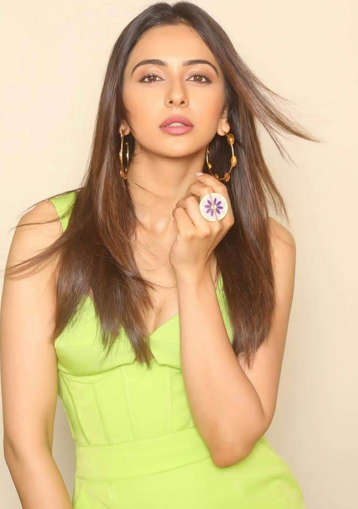 Rakul Preet Singh in One. Nought one one hoops for the promotions of her film Marjaavaan