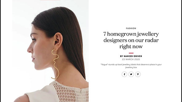 "7 Homegrown jewellery designers on our rader right now, BY NAHEED DRIVER, In ""Vogue India"""