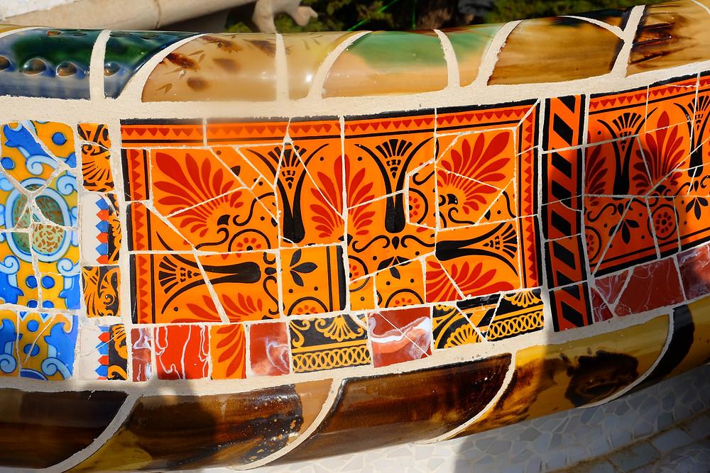 Mosaics Parc Guell