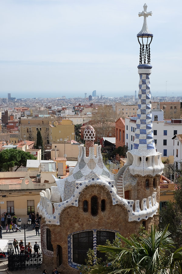 Stunning views of Barcelona from Parc Guell