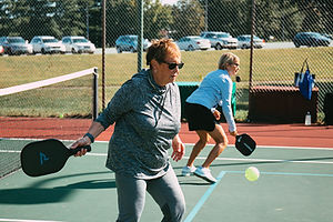 Pickleball and Tennis Player