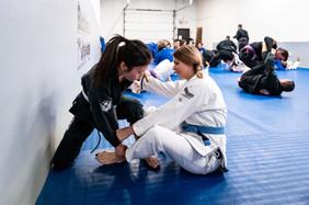 diana and jen training