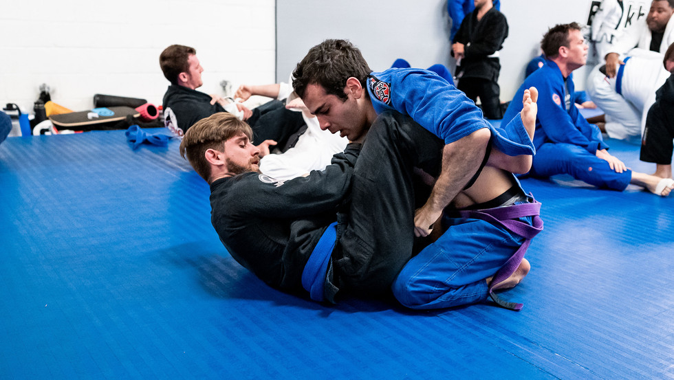 joey and marc training