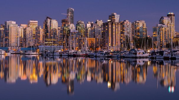 Glowing Vancouver