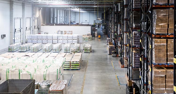 large order fulfillment center or 3PL warehouse