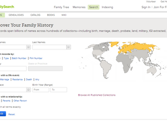 Browsing Images at FamilySearch Made Easier