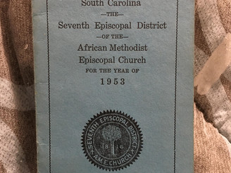 The 1953 The Episcopal Voice and Conference Calendar of Seventh Episcopal District of the AME Church