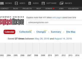 Wayback Machine: When You Stumble on Links That Do Not Work
