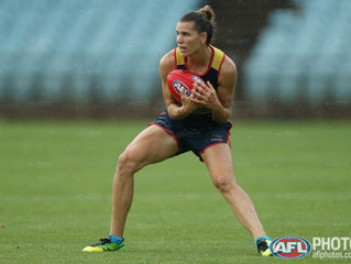 AFLW - a moment in time.