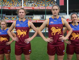 #AFLWomensGame - Melbourne v Brisbane Lions