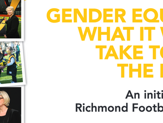 Recommended reading: Richmond FC's gender equity report