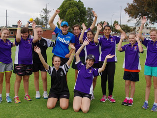 Cricket Australia's campaign to encourage young girls in cricket