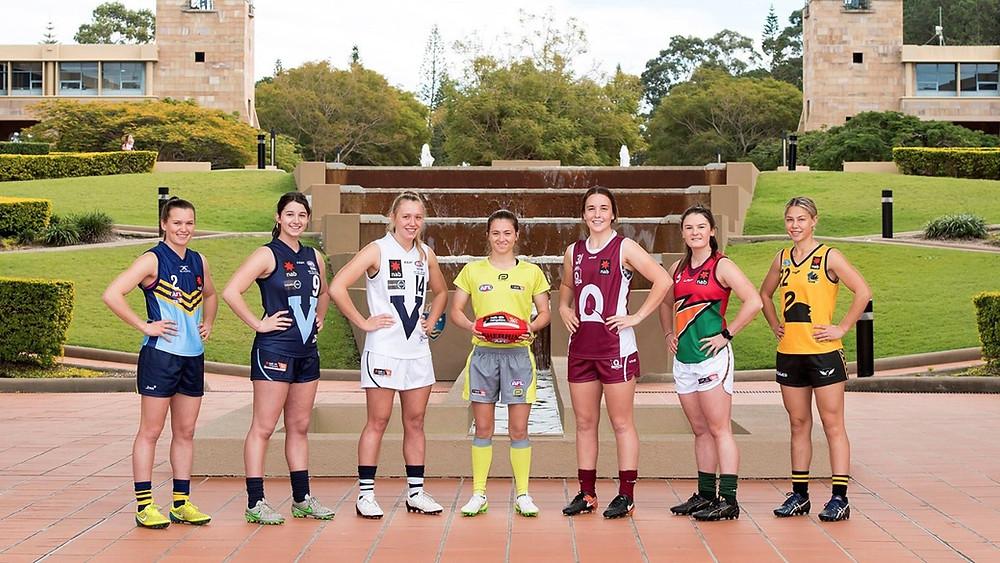 2017 NAB AFL Women's Under 18 captains