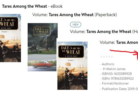 Walmart on-line is now selling Tares among the Wheat