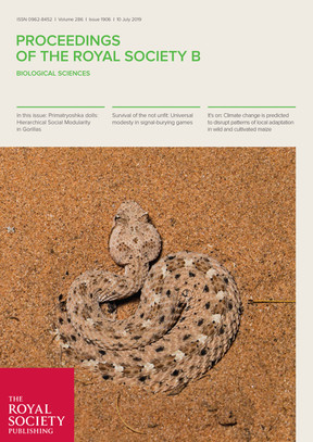 Rautsaw RM, Hofmann EP, Margres MJ, Holding ML, Strickland JL, Mason AJ, Rokyta DR, Parkinson CL. Intraspecific sequence variation and gene expression contribute little to venom diversity in the Sidewinder Rattlesnake (Crotalus cerastes). Proceedings of the Royal Society B: Biological Sciences 286(1906). DOI: 10.1098/rspb.2019.0810