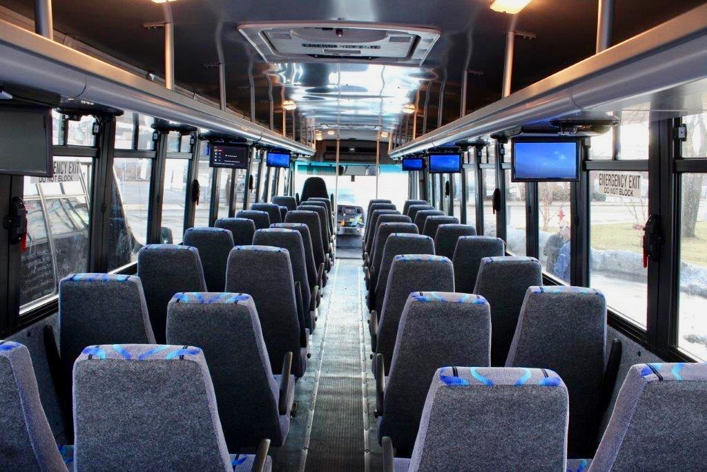 44 Passenger Interior