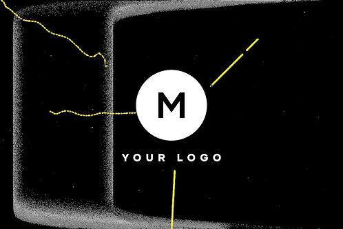 26464555 Scribble Grunge Distortion Logo