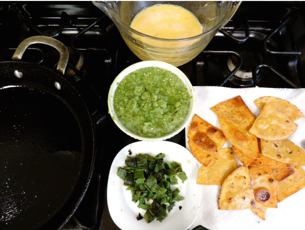 Chilaquiles - A Merry Recipe