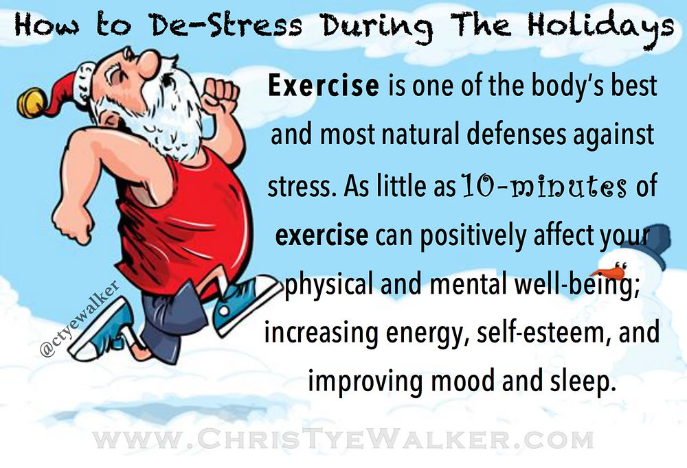 Chris Tye-Walker holiday fitness tip