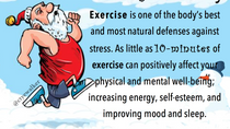 FIT TIP: Holiday De-Stress with just 10min of Exercise